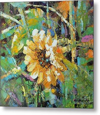 Sunflower I Metal Print