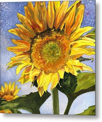 Sunflowers II Metal Print