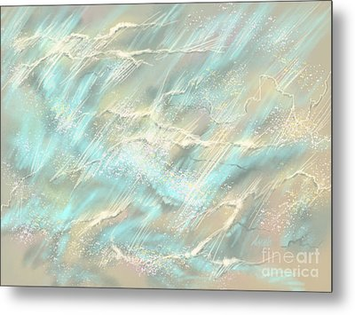 Sunlight On Water Metal Print by Amyla Silverflame