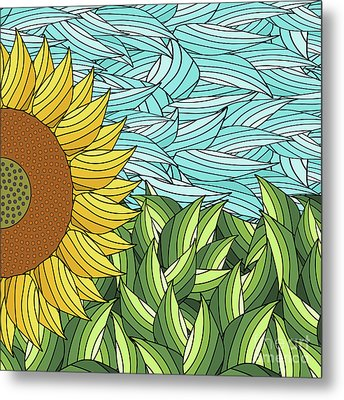 Sunny Day Metal Print by Absentis Designs