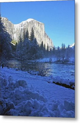 Metal Print featuring the photograph Sunny Winter Day 01 13 17 by Walter Fahmy