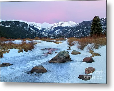 Sunrise At Rocky Mountain National Park Metal Print by Ronda Kimbrow