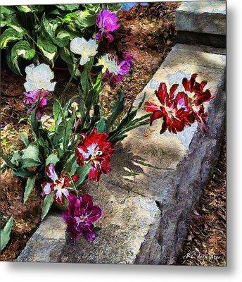 Sunrise Garden Metal Print by RC deWinter