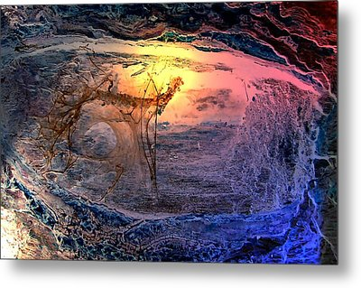 Sunrise In Another Place  Metal Print
