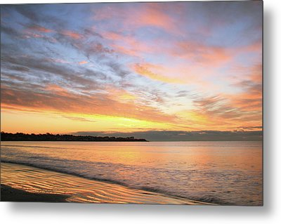 Metal Print featuring the photograph Sunrise On Middletown Rhode Island by Roupen  Baker
