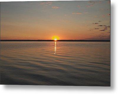 Sunrise On Seneca Lake Metal Print by William Norton
