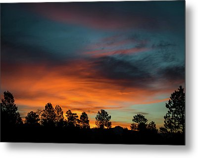 Sunrise Over The Southern San Juans Metal Print by Jason Coward