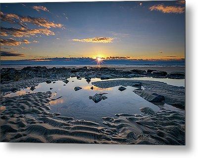 Sunrise Over Wells Beach Metal Print by Rick Berk