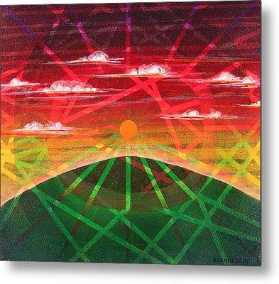 Sunrise Metal Print by Rollin Kocsis