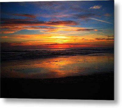 Sunrise Sunset  Full Metal Print