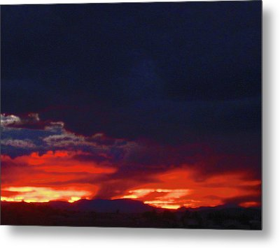 Sunset 2 Metal Print by Tammy Sutherland