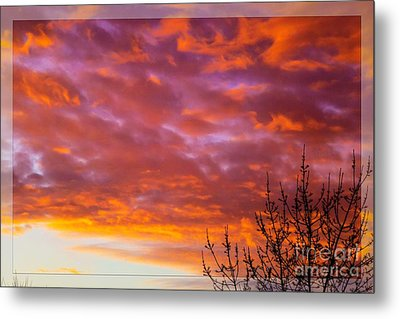 Sunset 7 Metal Print by Jean Bernard Roussilhe