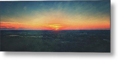 Sunset At Lapham Peak #3 - Wisconsin Metal Print by Jennifer Rondinelli Reilly - Fine Art Photography