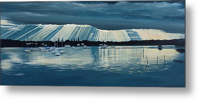 Sunset At Yamba Nsw Metal Print