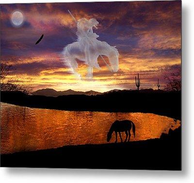 Sunset Dreams Metal Print by Nadene Merkitch