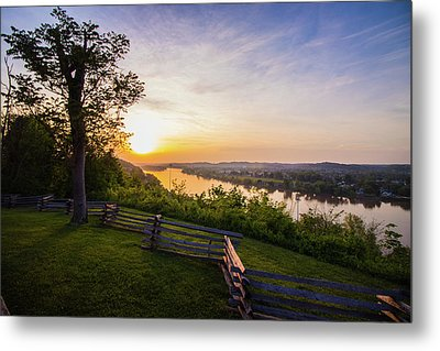 Sunset From Boreman Park Metal Print