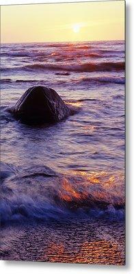 Sunset Lights Metal Print by Konstantin Dikovsky
