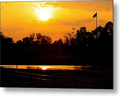 Sunset Metal Print by Michael Albright