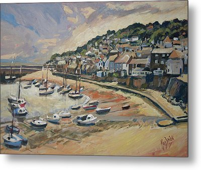 Sunset Mousehole Metal Print