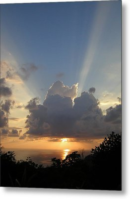 Sunset No.4 Metal Print by Gregory Young