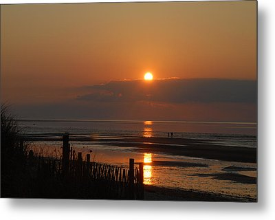 Metal Print featuring the photograph Sunset On Cape Cod by Alana Ranney