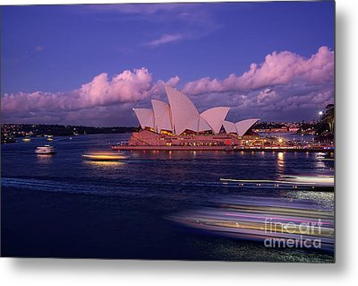 Sunset Opera By Kaye Menner Metal Print by Kaye Menner