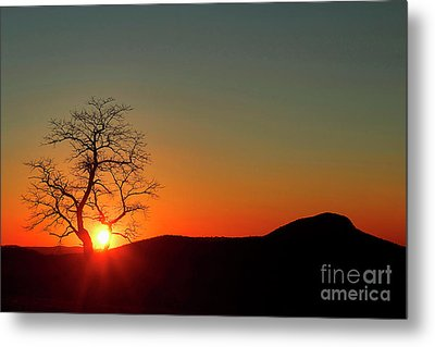 Metal Print featuring the photograph Sunset Over Virginia by Darren Fisher