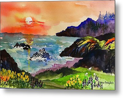 Sunset Sonoma Coast  Metal Print