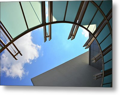 Sunshade Metal Print