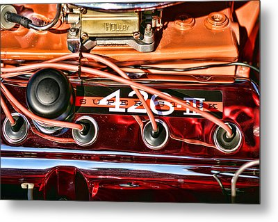 Super Stock Ss 426 IIi Hemi Motor Metal Print by Gordon Dean II