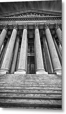 Supreme Court Building 10 Metal Print by Val Black Russian Tourchin