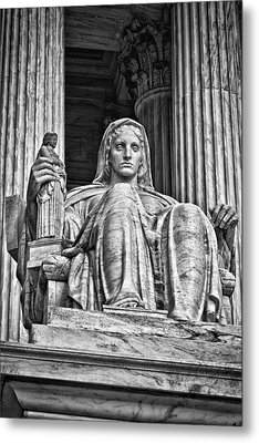 Supreme Court Building 13 Metal Print by Val Black Russian Tourchin