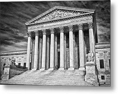 Supreme Court Building 2 Metal Print by Val Black Russian Tourchin