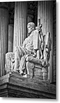 Supreme Court Building 4 Metal Print by Val Black Russian Tourchin