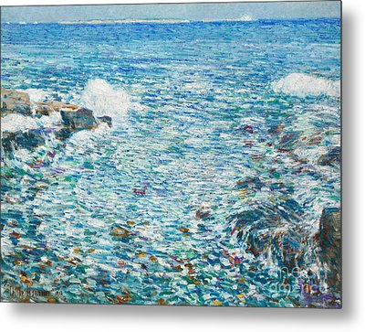 Surf, Isles Of Shoals, 1913 Metal Print by Childe Hassam