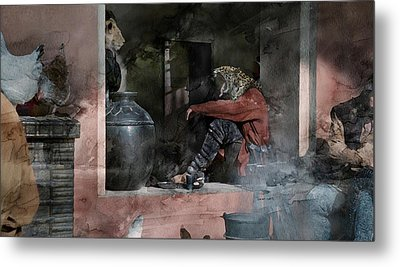 Surreal 53 Metal Print by Jani Heinonen