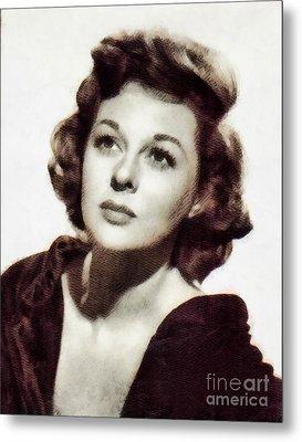 Susan Hayward, Vintage Hollywood Actress By John Springfield Metal Print
