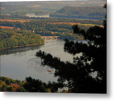 Susquehanna River Below Metal Print