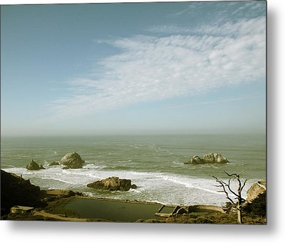 Sutro Baths San Francisco Metal Print