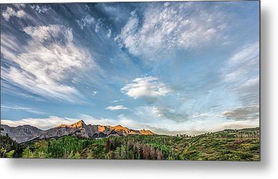 Metal Print featuring the photograph Sweeping Clouds by Jon Glaser