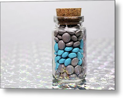 Sweet Happy Pills Metal Print