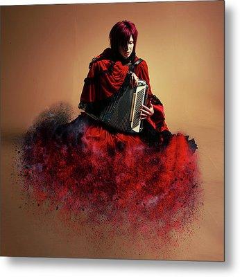 Sweet Music Metal Print by Nichola Denny