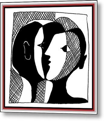 Metal Print featuring the digital art Sweet Nothings by Vagabond Folk Art - Virginia Vivier