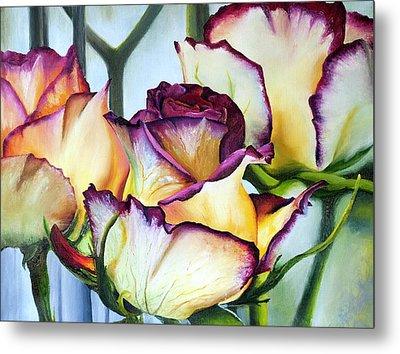 Sweetheart Roses Metal Print