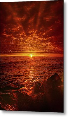 Metal Print featuring the photograph Swiftly Flow The Days by Phil Koch