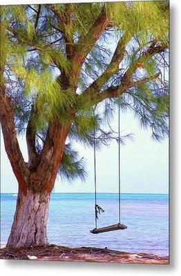 Swing Me... Metal Print by Karen Wiles