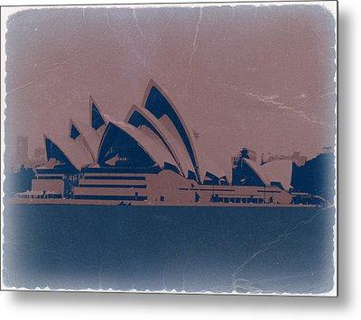 Sydney Australia Metal Print by Naxart Studio