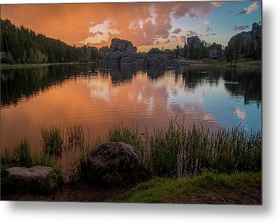 Metal Print featuring the photograph Sylvan Lake by Gary Lengyel