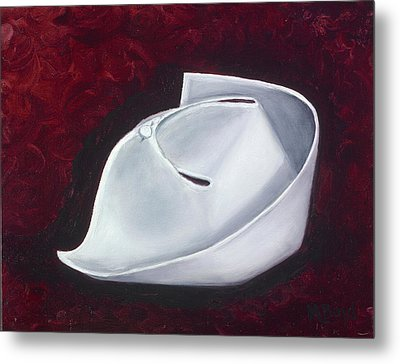 Symbol Of A Proud Profession  Metal Print by Marlyn Boyd
