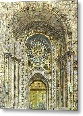 Synagogue Metal Print